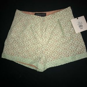 VICTORIA BECKHAM FOR TARGET lace shorts
